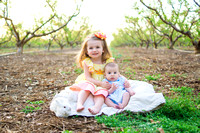 Sophie Kate and Luke - Spring Bunnies and Chicks :: North Augusta Photographer